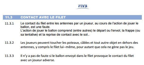 regle filet